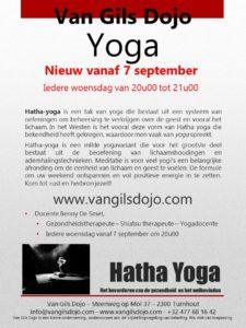 Yoga woensdag vanaf 7 september